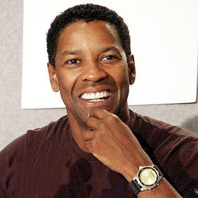 What movie stars Denzel Washington in a role previously played by Frank Sinatra?