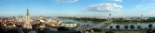 Where can you find the city Bratislava?