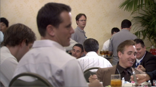 In &#39;The Convention,&#39; why is Dwight unable to dig up any dirt on Josh?