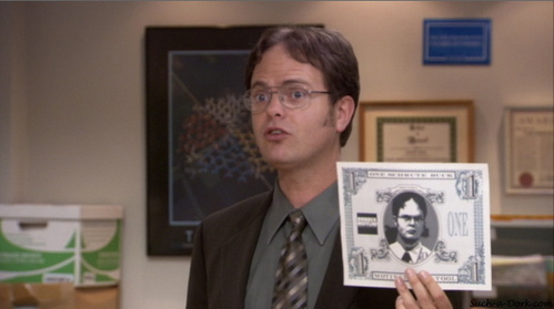 What is the cash value of a Schrute buck?