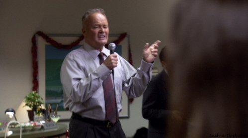In 'A Benihana Christmas,' what band/artist is NOT covered in karaoke?