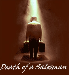 "Which famous playwright wrote ""Death of a Salesman?"""