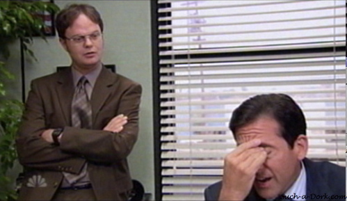 What is NOT one of the reasons Dwight thinks Michael hit Meredith with his car?