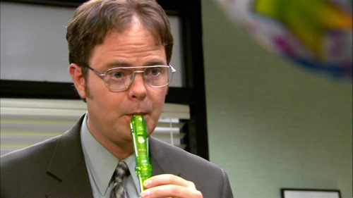 According to Dwight, what is Michael's favorite song?