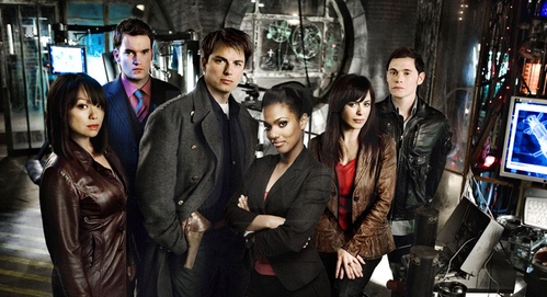 Which Doctor Who actor wrote an episode of Torchwood?