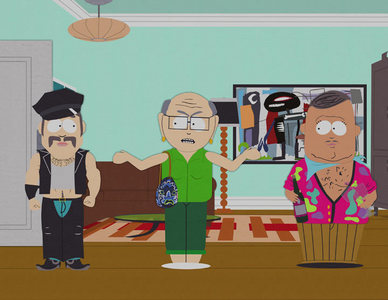 What was Mr. Garrison's first name when he became Mrs. Garrison?