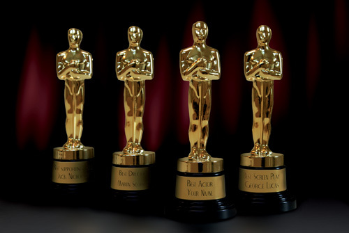 Which was the first film to win Oscars for Best Picture, Actor, Actress and Director?