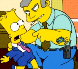 "What is the name of the video game Bart steals in ""Marge Be Not Proud""?"