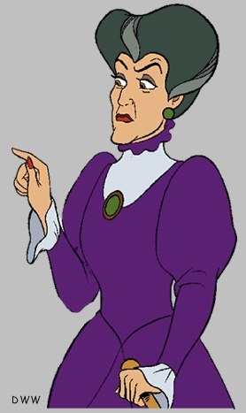 What is the name of this evil woman from Cinderella?