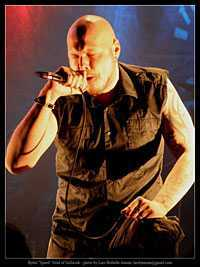Name of the band whose lead singer is Björn Strid?