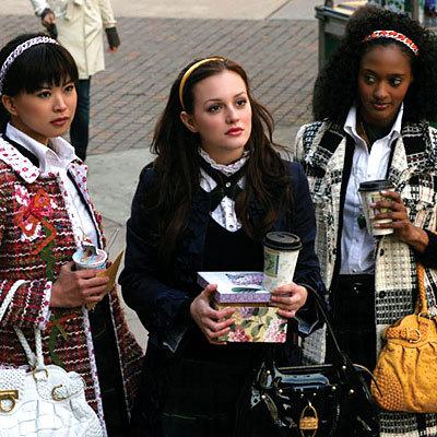 What was the name of Blair's party in the first episode?