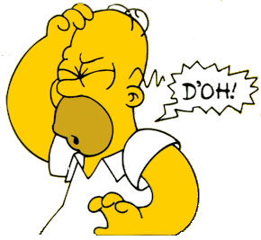 """What is the first short in which we hear Homer say, """"D'oh!""""?"""