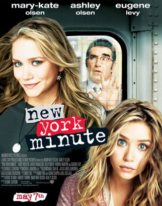 What are the twins called in New York Minute?