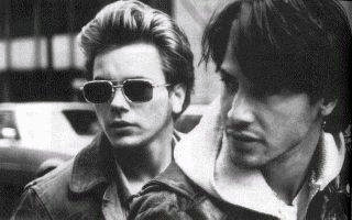 How many films have River Phoenix and Keanu Reeves appeared in together?