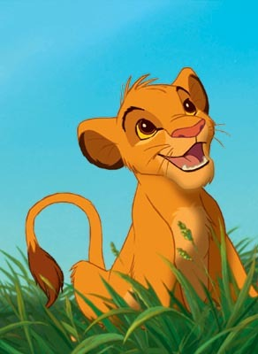 Who provided the voice for young Simba?