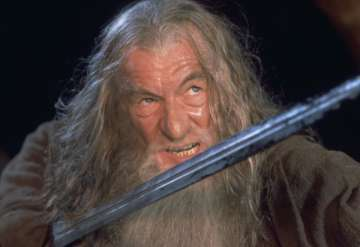 What was the name of Gandalf's sword?