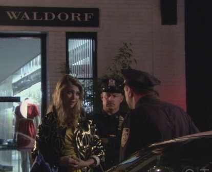 "In ""Dare Devil"", how does Jenny prove to the police that she is Blair Waldorf?"