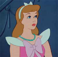 What is/are the item/s the mice steal to make Cinderella's dress look better?