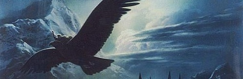 What is the name of the Great Eagle who rescues Gandalf from the imprisonment atop Isengard?
