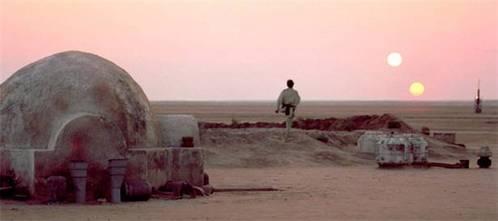 What was Owen Lars farming on the Lars Homestead on Tatooine?