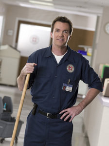 What was the Janitor's wedding gift to Elliot?