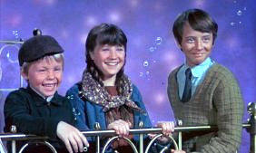 Bedknobs & Broomsticks:  What were the names of the children?