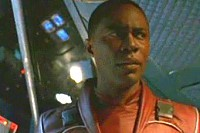 What was the first name of the bounty hunter that came to get River in the last episode of Firefly?
