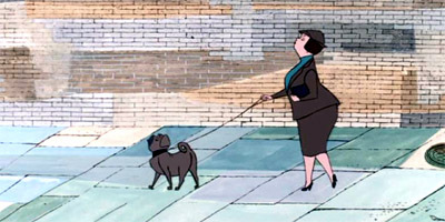 101 Dalmatians: According to Pongo, what is wrong with this couple?