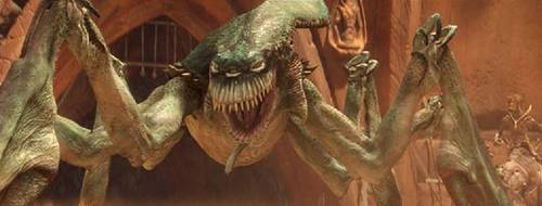 What is that name of this creature from Attack of the Clones?