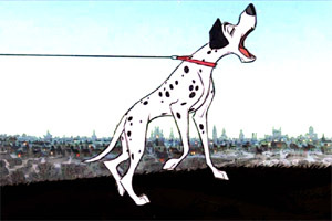 101 Dalmatians: What is the name of the dog gossip chain used 由 Pongo & Perdy to spread the news of their missing puppies?