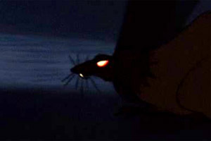 Which movie did NOT have a rodent as a villain?