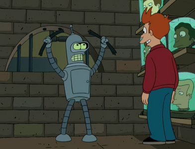 What is Bender's apartment number?