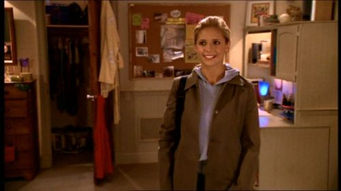 What was Buffy's dorm room #?