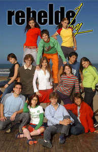 How many episodes does Rebelde way have?