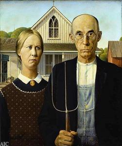 Who painted American Gothic?