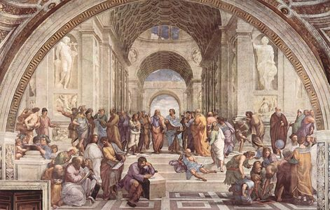 Who painted 'The School of Athens'?