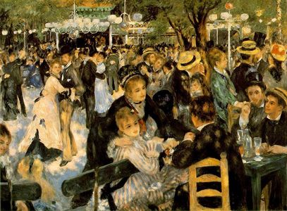 Which artist painted 'Dance at Le Moulin de la Galette'?