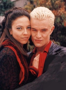 In which episode we saw a first time crazy vampires couple Spike & Drusilla?
