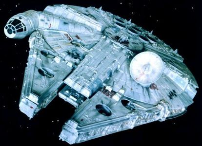 What type of ship is the Millennium Falcon?