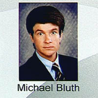 What award did Michael Bluth receive in high school?