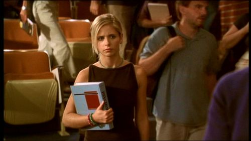 What class did Buffy want to take, but couldn't because it conflicted with Psych?