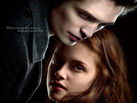Edward was actually talking to Bella in her head in New Moon. True or False?
