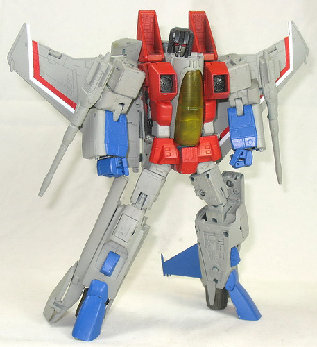 As a ghost , who didn't starscream posses ?