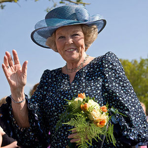 What's the name of this individual in the picture (the Queen of the Netherlands)?