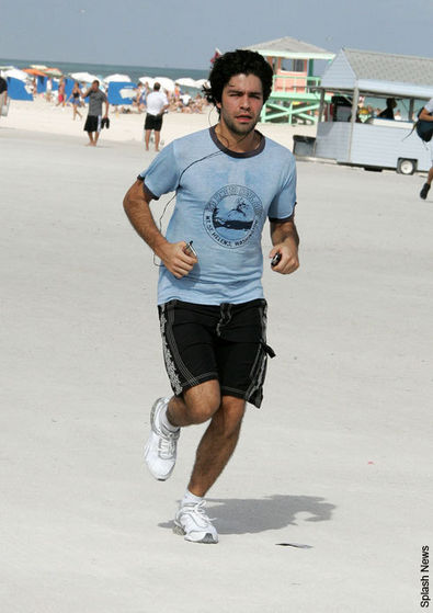 Adrian Grenier hopes the environment isn't running out of time!