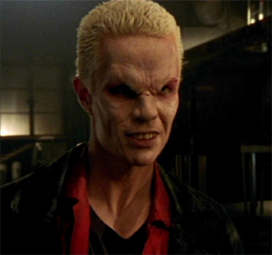 "Spike in ""School Hard"" when he was badass and not a pansy"