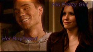 her boyfriend...his pretty girl