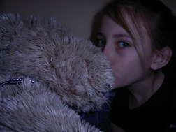 Me beijar my Fav Teddy lol