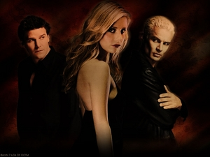 Angel, Buffy & Spike from Buffy The Vampire Slayer one my favorit shows that I just love.Also a dedicated fan too