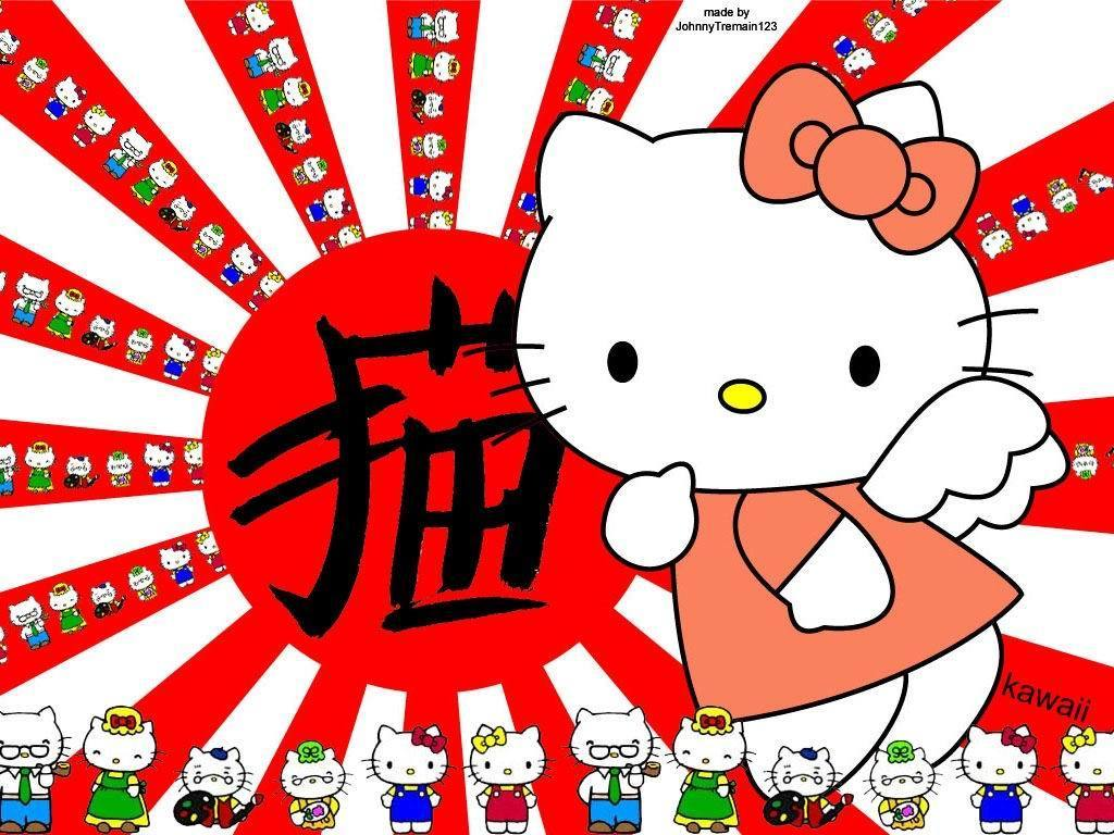 O que significa hello kitty em chines